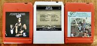 3 lot 8-Track tapes Sonny & Cher Live/ The Best Of Sonny & Cher/ All I Ever Need