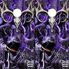 Cornhole Board Wraps Vinyl Camo Decals Buck Skulls Grim Reaper PURPLE 2 Sheets