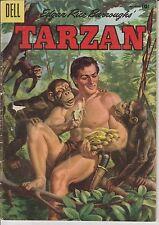 1955 Tarzan #75 Comic Book GOLDEN AGE Edgar Rice Burroughs Dell Pulp Apes Cheeta