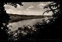 Bodmann am Bodensee alte Ansichtskarte ~1950/60 Blick über den See ungelaufen