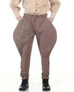 Steampunk Archibald Jodhpur Pants