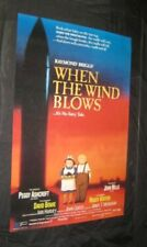 Original WHEN THE WIND BLOWS Raymond Briggs Waters BOWIE MAKE OFFER!!!