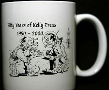 KELLY FREAS 50TH ANNIVERSARY COFFEE CUP