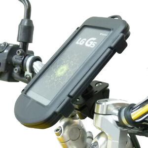 Motorcycle Bike Handlebar Mount & Waterproof Case for LG G5