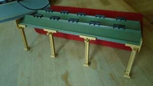 HORNBY DUBLO 5006 ENGINE SHED EXTENSION KIT. NICE CLEAN CONDITION. RED BOX.