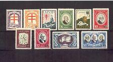 1931 Latvia ANTI - Tuberculosis, Latvian, Latvija, Sc. B72-81; Mi.# 180/9  MNH**