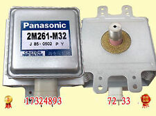 1pcs Used Good Panasonic Microwave Oven Magnetron 2M261-M32 #VZU