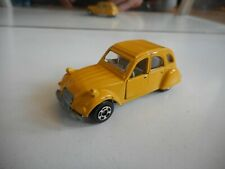 Polistil RJ 42 Citroen 2cv in Yellow