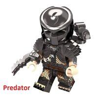 Lego Figures Super Hero PREDATOR Action Building Block Toy