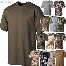 MFH Herren US T-Shirt halbarm Rundhals 100% Baumwolle 170g/m² Größe S bis 4XL