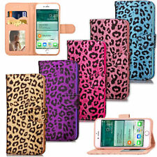 Synthetic Leather Mobile Phone Flip Cases for iPhone 7