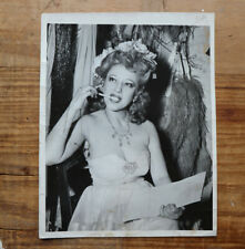 Sally Rand rare backstage burlesque press photo original