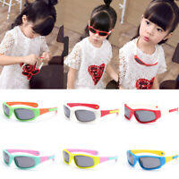 Silicone Flexible Kids Polarized Sunglasses Sun Glasses For Boys Girls Children