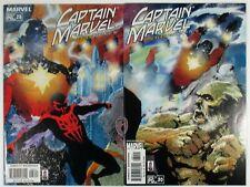 Captain Marvel #28 #30 NM- Spider-Man 2099 Marvel Comics 2002