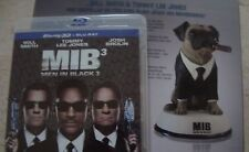 MEN IN BLACK 3 2disc 3D BluRay LIMITED EDITION with solid FRANK THE PUG Statue