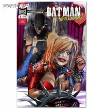 BATMAN WHO LAUGHS 1 GREG HORN HARLEY QUINN WHO LAUGHS LOGO VARIANT-A 3000 PT