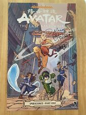 SDCC 2019 AVATAR SIGNED Poster Exclusive Comic Con DiMartino Hicks Lien Yang NEW