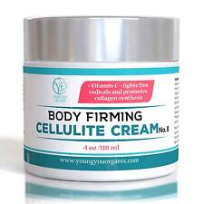 YoungYou Organix Cellulite Cream Skin Firming, Slimming Legs & Thighs