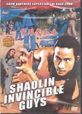 (Shaw Brothers Kung Fu Martial Arts DVD Chi Kuan Chun) Shaolin Invincible Guys