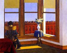 Hopper Edward Room In Brooklyn Print 11 x 14     #4734