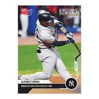 2020 TOPPS NOW #333 GLEYBER TORRES NEW YORK YANKEES BREAKS OUT WITH 4 HITS-PS