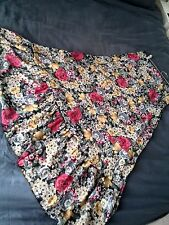 Full length semi see-through skirt-size 12-Excellent condition