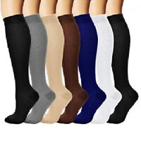 Unisex Men Women Copper Infused Compression Socks 20-30mm Fatigue Graduated S-XL