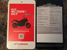 2015 NC 700X/DCT Specification Card