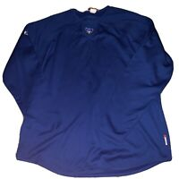 Majestic Chicago Cubs Sweater Mens Size XL Blue Thermal Base Shirt