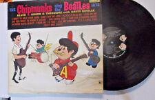 "DAVID SEVILLE & CHIPMUNKS, ""Chipmunks Sing The Beatles Hits"" LP"