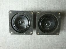 Pair Vintage Bozak Speaker Tweeter speakers tweeters No 200Y 16 ohm Tempo B301a