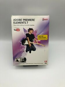 Adobe Premiere Elements 7 for Microsoft Windows with Serial Number