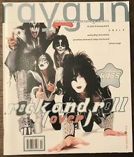 RAY GUN MAGAZINE OCTOBER 1998 KISS GENE SIMMONS PAUL STANLEY PETER ACE + POSTER