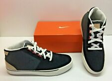 Nike Hachi Textile Lifestyle Mid / High Top Casual Black Sneakers Shoes Mens 8.5
