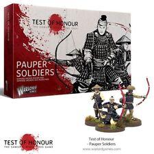 Test of Honour Pauper SOLDATS 28mm warlord games Japon soldat samouraï Ronin