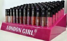 72pc Beautiful Colours In New London Girl Matte Finish Lip Gloss Whole Sale Pric