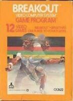 Breakout - Atari 2600 Game Authentic
