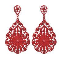 Elegant Women Ladies Vintage Fashion Rhinestone Dangle Stud Earrings Jewelry gb