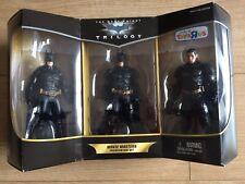 The Dark Knight Trilogy Batman Movie Masters Premium Box Set MIB Brand New!!