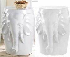 ELEPHANT BUST DECORATIVE STOOL, SEAT CHAIR PLANT OR SCULPTURE STAND ** NIB
