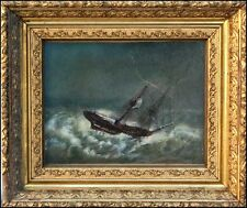 W.A.KNELL, b.1805, BEAUTIFUL SHIPWRECK PAINTING - SALE