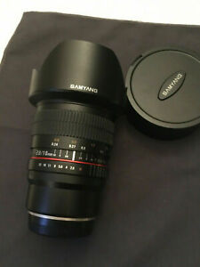Samyang 10mm F2.8 ED AS NCS CS FUJIFILM X Fit