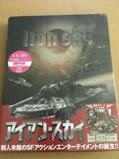 IRON SKY JAPAN BLU-RAY STEELBOOK  SEALED DELUXE EDITION RARE