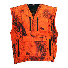 Gamehide Mountain Pass Deer Elk Big Game Vest Extreme Blaze Orange (Camo) AJV