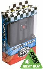 HONDA VT 500 E 83-85 R&G Racing Hot Heated Grips 22mm 7/8 Handlebar