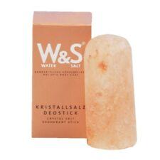 Kristallsalz Deostick Wasser&Salz reiner Salzkristall geschliffen naturbelassen