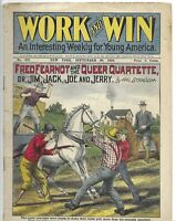 Work and Win - Sept. 30, 1910 - Fred Fearnot and the Queer Quartette - Standish