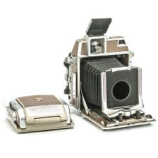 Linhof Technika 2x3 View Camera with Super Rollex 120 Film Back (no Lens)