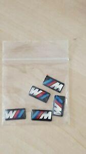 BMW M Tec Sport Badge Alloy Wheel stickers Sport 17mm x 9mm - 5