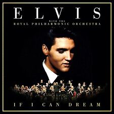 Elvis Presley If I Can Dream: Royal Philharmonic Orchestra NEW CD 2016 Low Price
